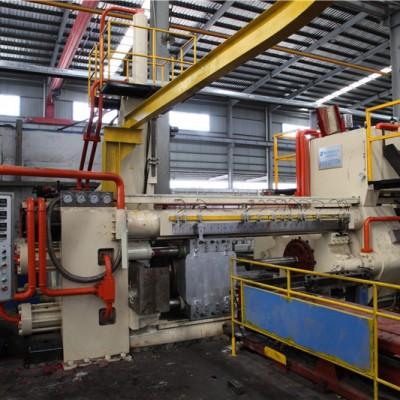 Aluminum profile extrusion machine 2000T